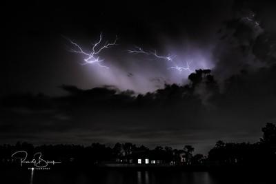 Thunderstorm, Lightning, Rain and Starlight