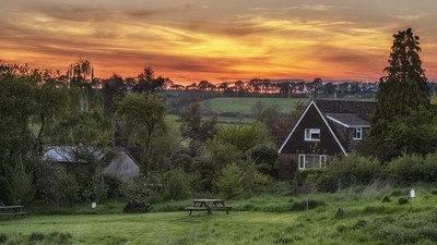Village Sunset, Northamptonshire