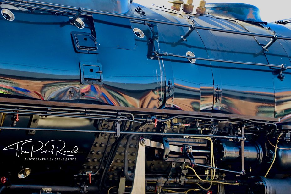 """The Union Pacific #4014 """"Big Boy"""" steam locomotive, prior to its christening on May 4th. The ..."""