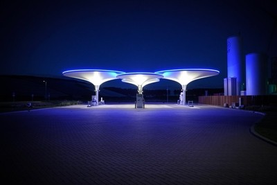 Tankstation for cars