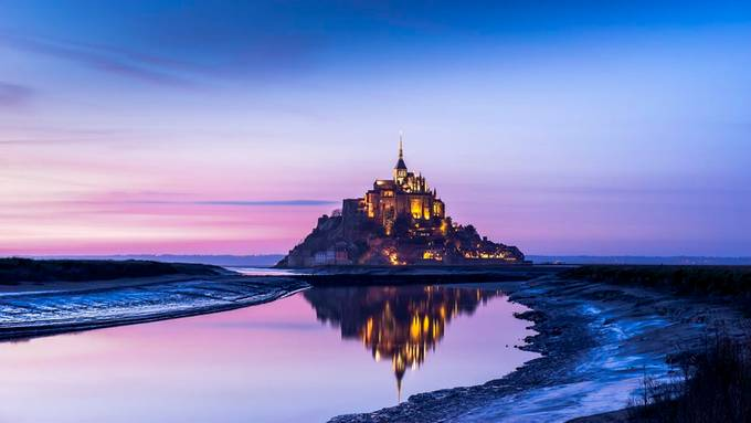 Mont-St-Michel-reflection by Imdev - Around The World Photo Contest Digital Camera World