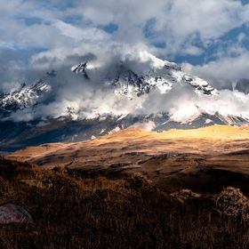 Torres del Paine National Park view...