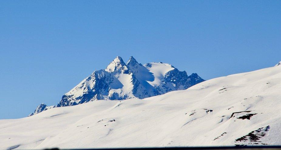 Swiss Peaks near Laax