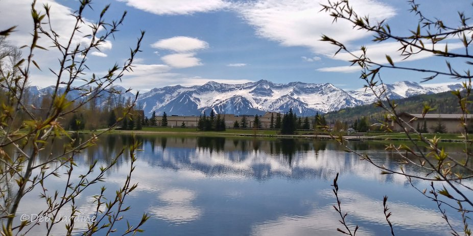 Lovely Fernie, British Columbia sitting in a valley surrounded by the beautiful Rockies in Canada...