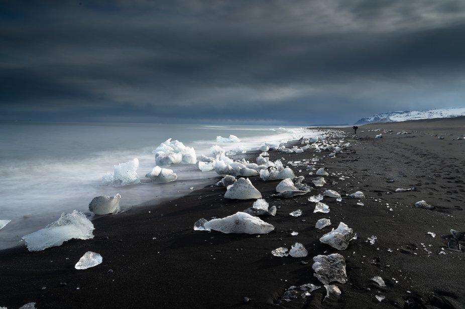 Diamond Beach, Iceland.