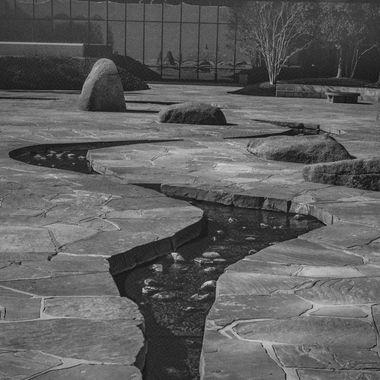 The Noguchi Gardens...