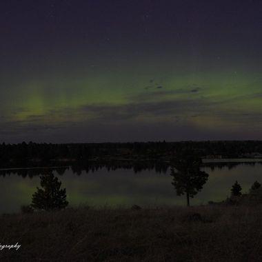 Northern Lights over Keyhole