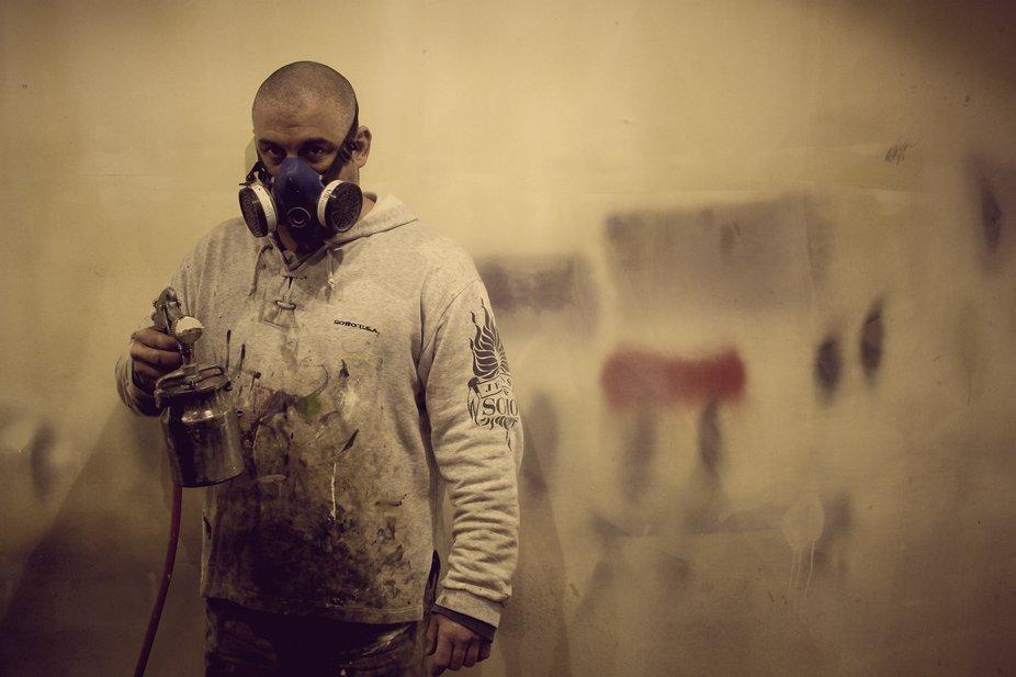 Camara de pintura