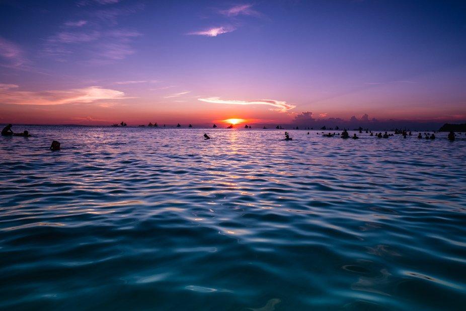 Sun sets on Boracay