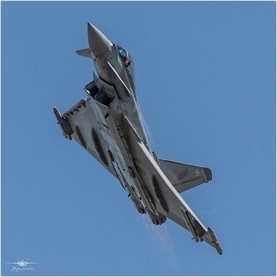 - RAF Typhoon Display Team,  Flt Lt Jim Peterson over RAF Coningsby 15-5-19