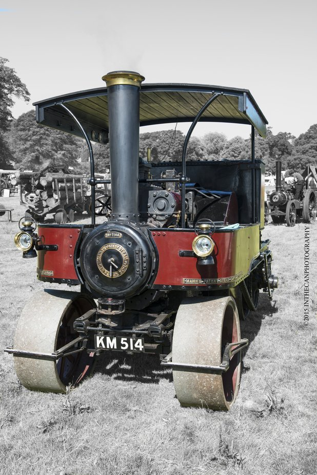 Full restored, fantastic to see and appreciate the years of hard work restoring these fine machines