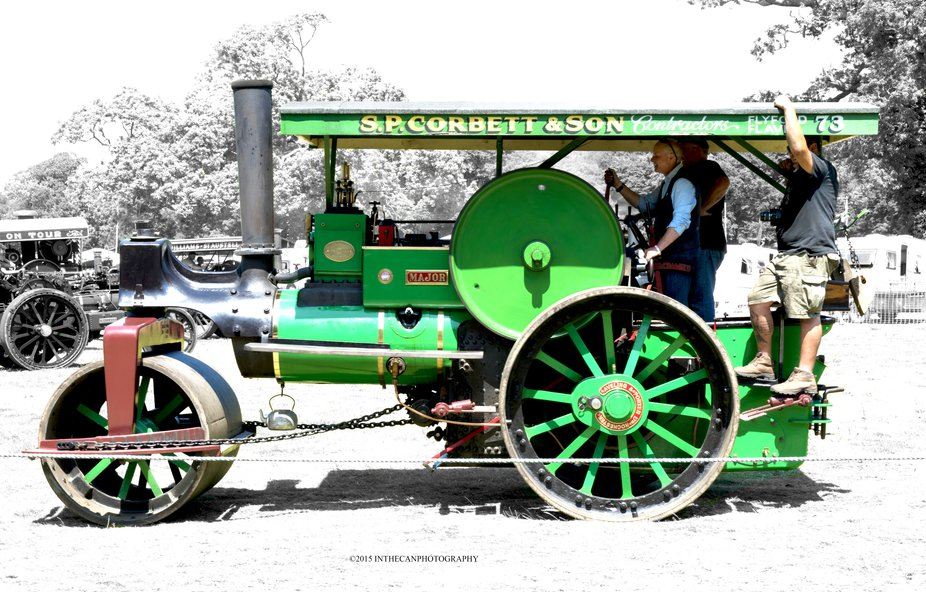 Another great example of restoration that makes these engines stand out, amazing.