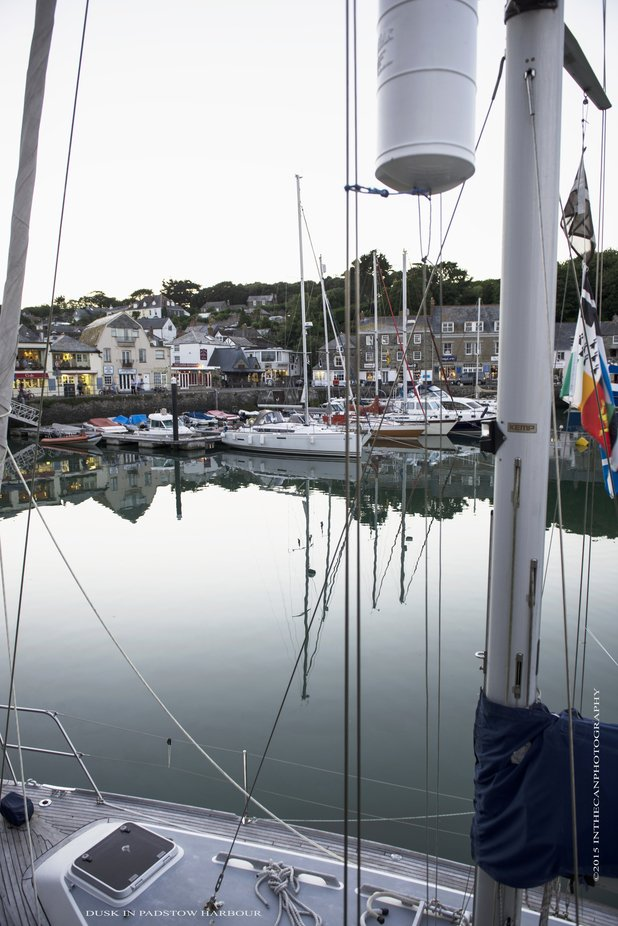 Padstow opposite Rock, fine restraints and fantastic sandy beaches that go on for miles.