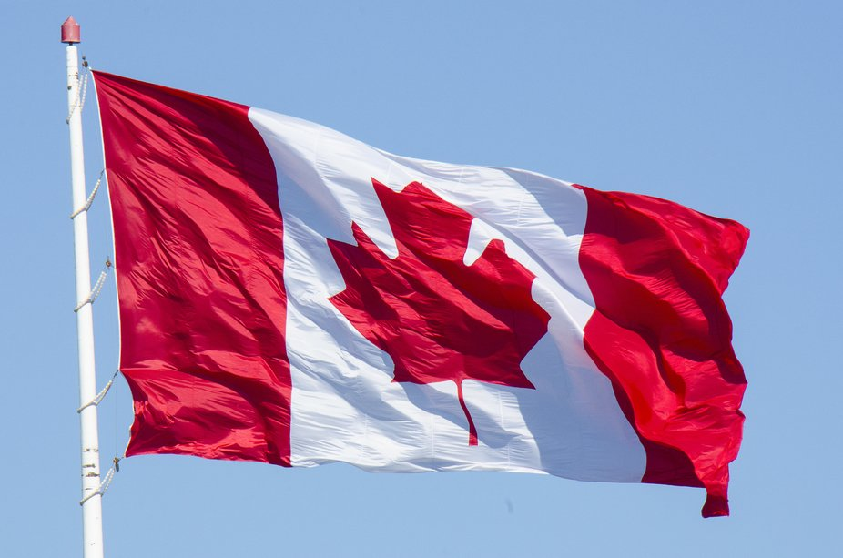 Flying proudly on Canada Day