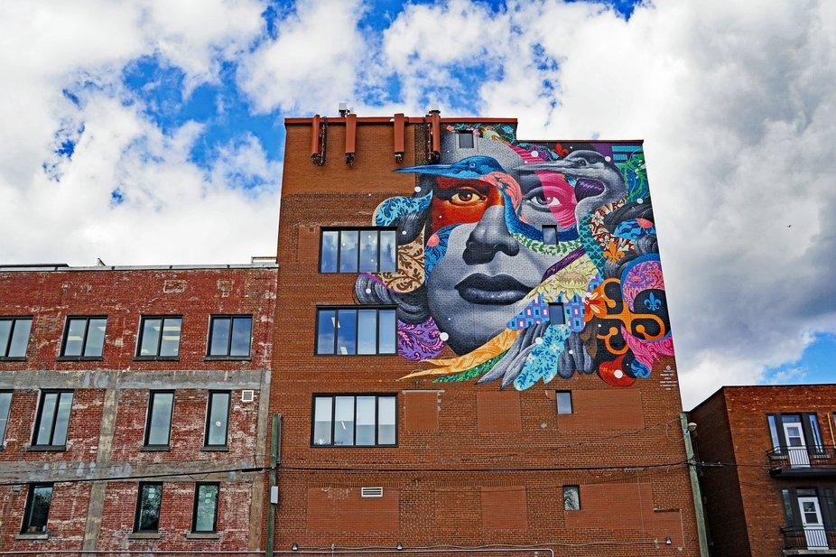 Montreal Mural Art
