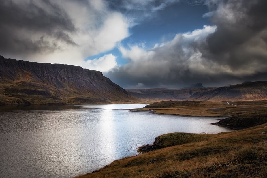 Iceland - on the road to Helgafell.