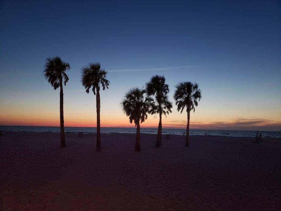 Sunset Florida, Clearwater beach