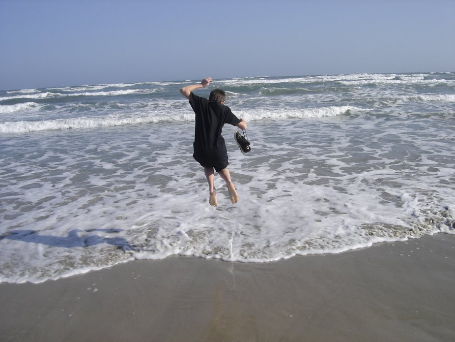 First time playing in the Gulf Of Mexico.