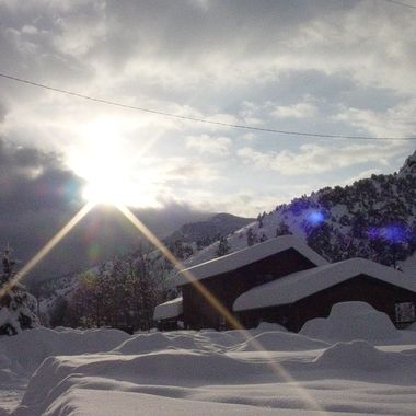 It stops Snowing