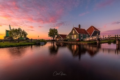 Yet another sunset in Zaanse Schans
