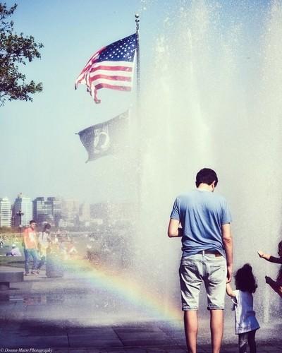 Flags abd Rainbows
