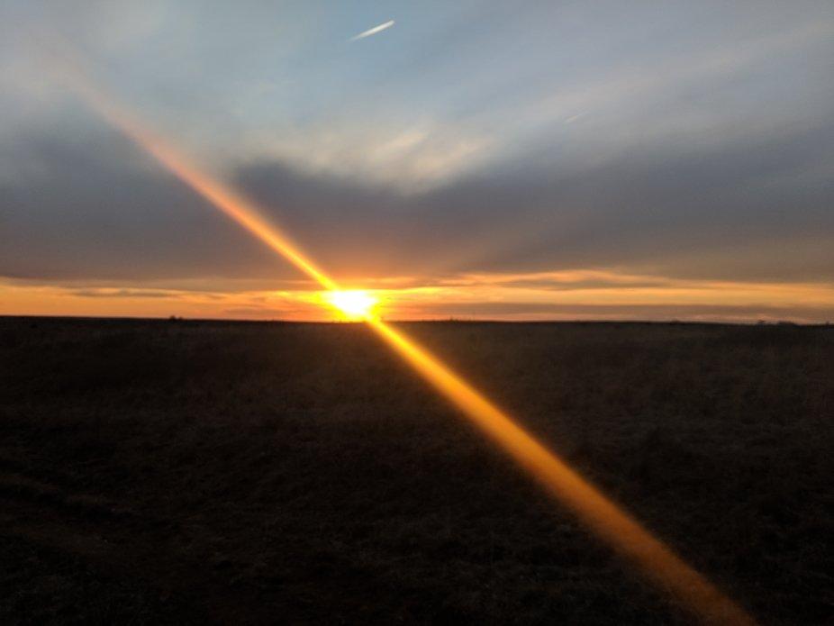kanopsun, sunset, horizon
