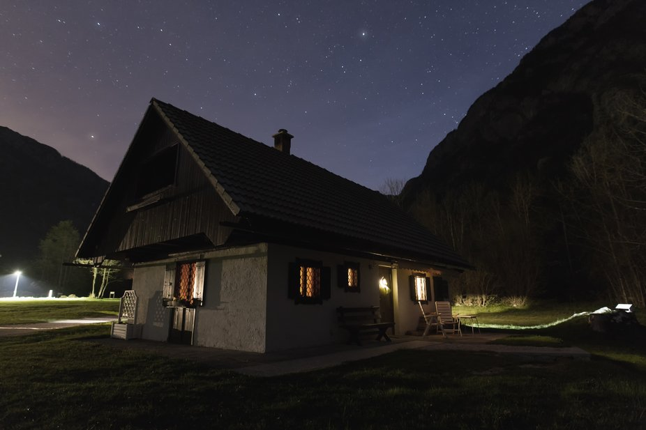 Night Cottage in Ukanc