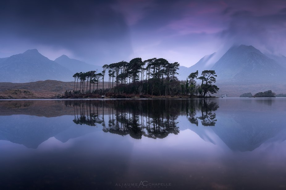 The calm before sunrise at this famous place in Ireland