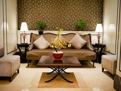Living room in hotel