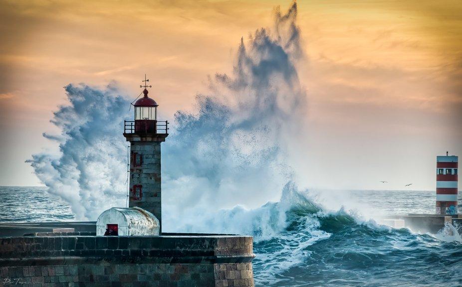 Faso Lighthouse Portugal