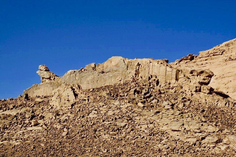 drought. Wadi Rum