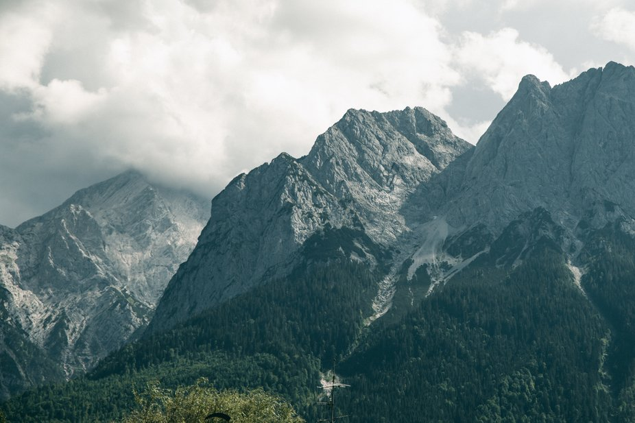 Incredible mountains in Bavaria.