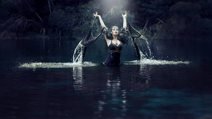The Lady of the Lake by clementinacabral - Fantasy And Illusion Photo Contest