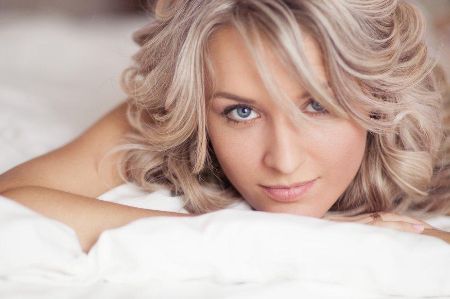 morning portraint og beautiful woman