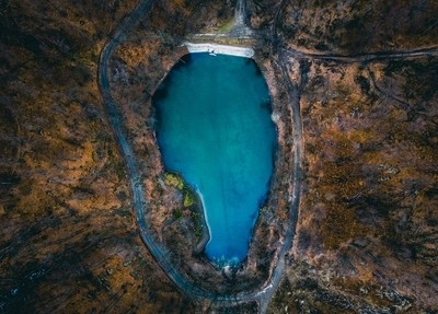LAKE DROP IN HUNGARY