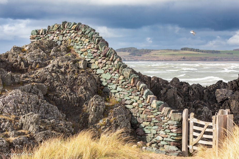 A beautiful, thoughtful and clever feature on the north beach of one of Anglesey's most ...