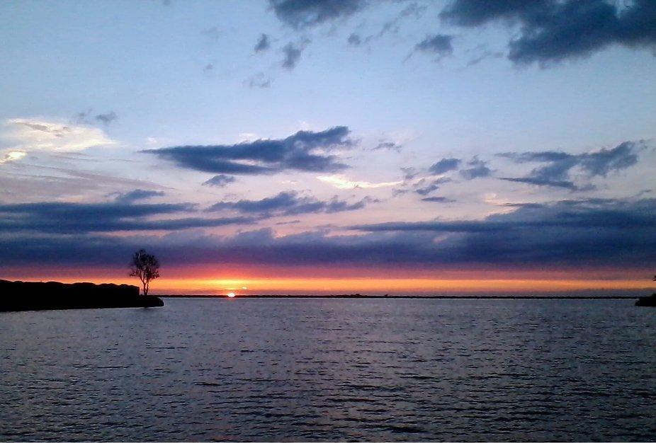 Lake Erie harbor