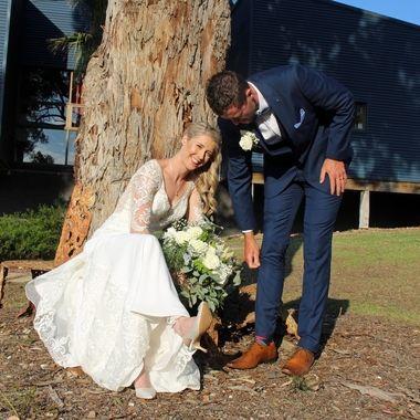 Natural wedding pic