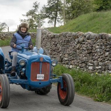 Tractor fun.