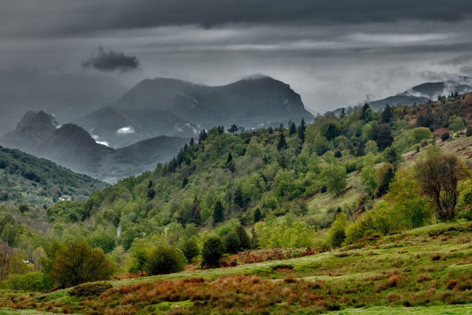 Picture taken in Ariege, Pyrenees mountains, France.