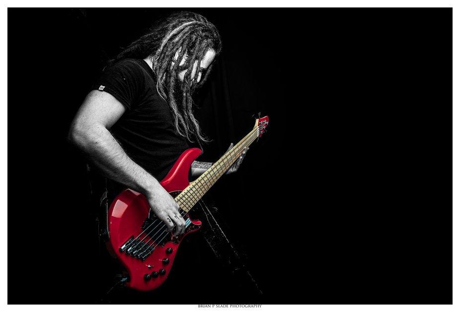 Flight Of Eden's bass guitarist Christian Sturgess