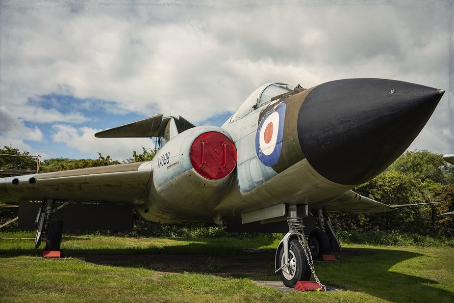 Gloster Javelin at the Midland Air Museum, Coventry