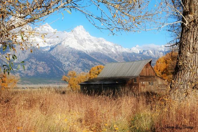 October in Grand Teton National Park