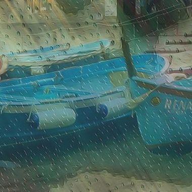 Giornata di pioggia nelle Cinque Terre