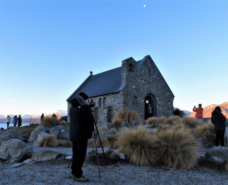 The Church of the Good Shepherd on the shoreline of Lake Tekapo is a photographer's drea...