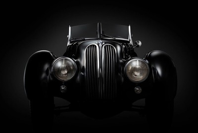 I shot this classic BMW 328 at the Louwman museum using a speed light with a small beauty dish and diffuser.