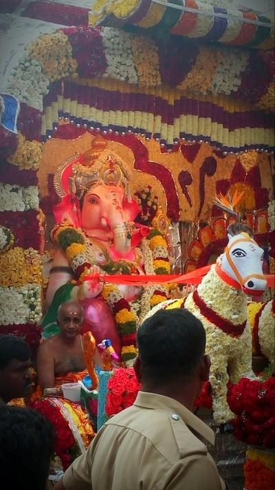 Hindu mahasabha Ganapati 2018 hassan