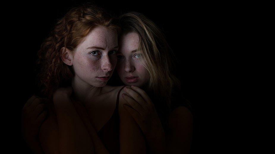 Chiaroscuro portrait shoot  ©jamie laverty photography