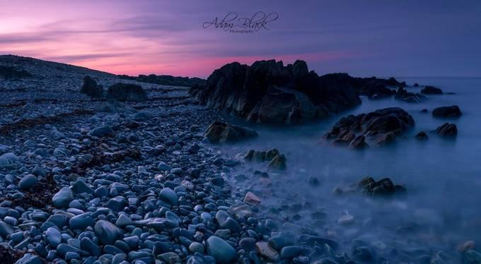 Kearney sunset blue