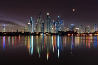 Dubai skyline - May 2019